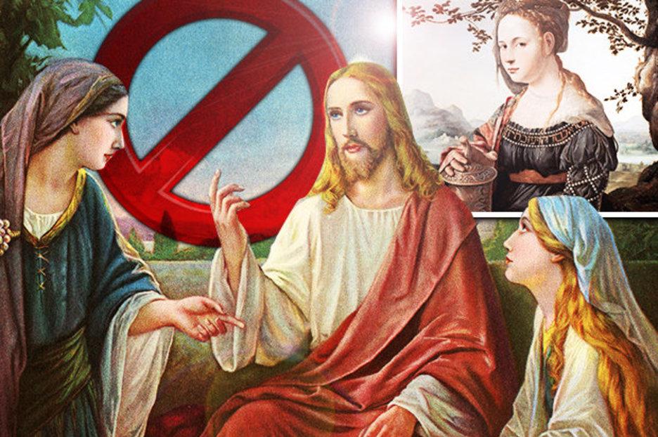 У Иисуса было 12 учеников мужчин и 12 учениц женщин